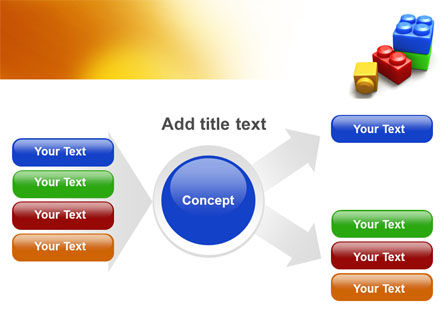 Lego Bricks PowerPoint Template Slide 14