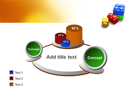 Lego Bricks PowerPoint Template Slide 16
