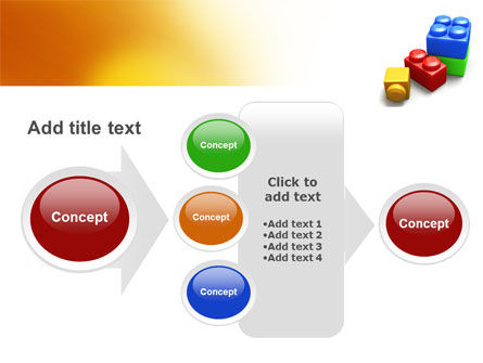 Lego Bricks PowerPoint Template Slide 17
