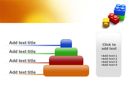 Lego Bricks PowerPoint Template Slide 8