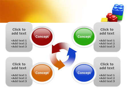 Lego Bricks PowerPoint Template Slide 9