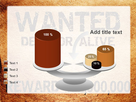 Wanted Criminal PowerPoint Template Slide 10