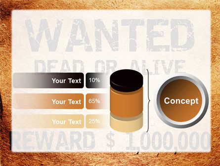 Wanted Criminal PowerPoint Template Slide 11