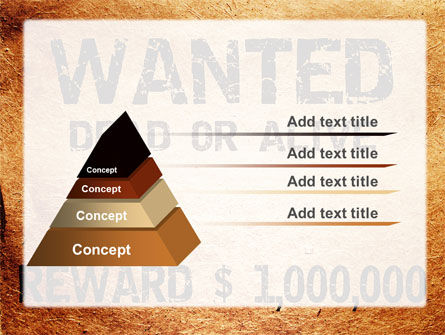 Wanted Criminal PowerPoint Template Slide 12
