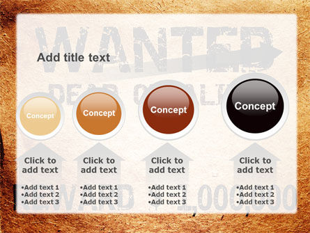Wanted Criminal PowerPoint Template Slide 13