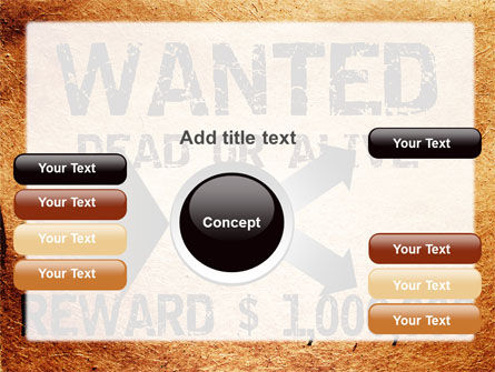 Wanted Criminal PowerPoint Template Slide 14