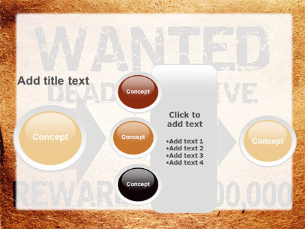 Wanted Criminal PowerPoint Template Slide 17