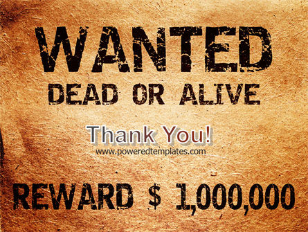 Wanted Criminal PowerPoint Template Slide 20