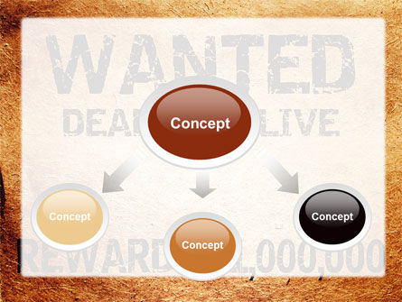 Wanted Criminal PowerPoint Template, Slide 4, 08672, Legal — PoweredTemplate.com