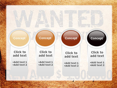 Wanted Criminal PowerPoint Template Slide 5