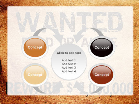 Wanted Criminal PowerPoint Template Slide 6