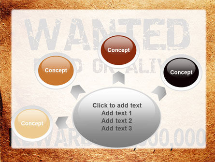 Wanted Criminal PowerPoint Template Slide 7