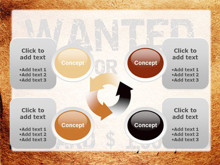 Wanted Criminal PowerPoint Template Slide 9