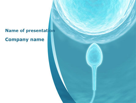 Medical: Conception Of New Life PowerPoint Template #08673