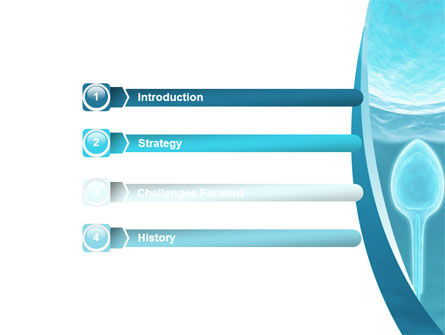 Conception Of New Life PowerPoint Template, Slide 3, 08673, Medical — PoweredTemplate.com