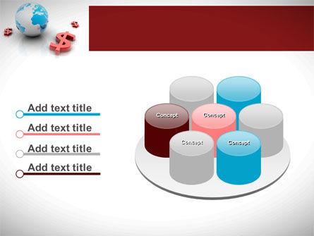 World Money PowerPoint Template Slide 12