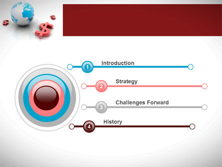World Money PowerPoint Template Slide 3