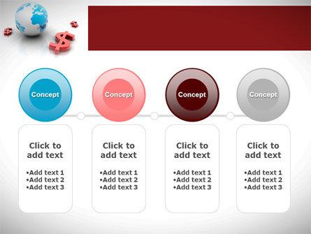 World Money PowerPoint Template Slide 5