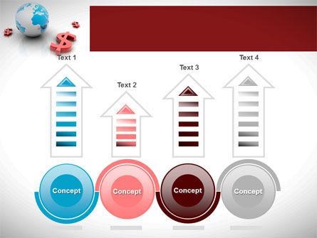 World Money PowerPoint Template Slide 7