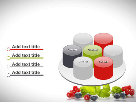 Cranberries Flavor PowerPoint Template Slide 12