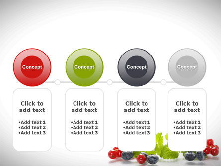 Cranberries Flavor PowerPoint Template Slide 5
