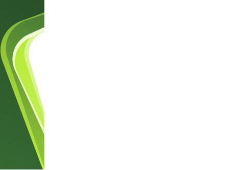 Green Frame PowerPoint Template, Slide 3, 08678, Abstract/Textures — PoweredTemplate.com