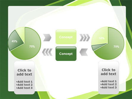 Green Frame PowerPoint Template Slide 11