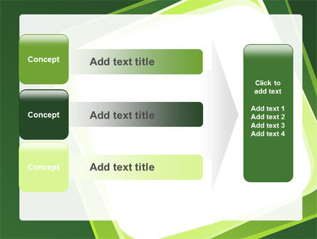 Green Frame PowerPoint Template Slide 12