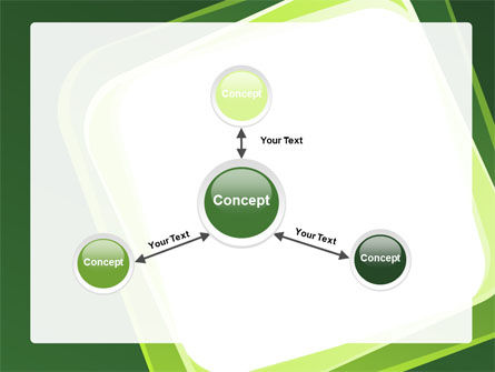 Green Frame PowerPoint Template Slide 14