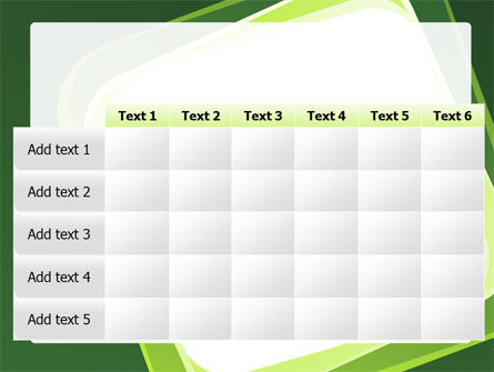 Green Frame PowerPoint Template Slide 15