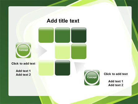 Green Frame PowerPoint Template Slide 16