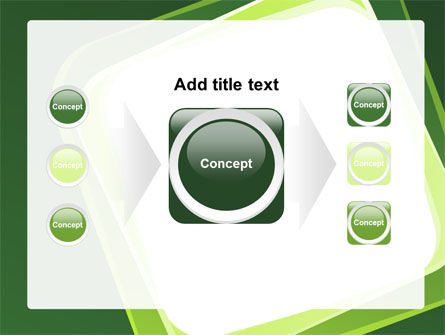 Green Frame PowerPoint Template Slide 17
