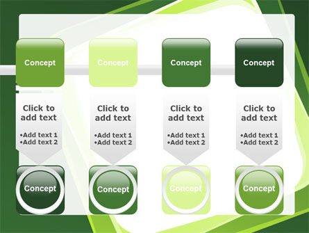 Green Frame PowerPoint Template Slide 18