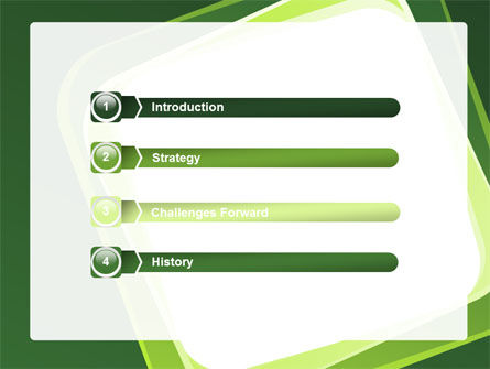 Green Frame PowerPoint Template Slide 3