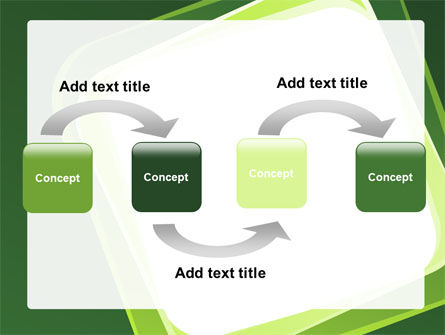 Green Frame PowerPoint Template Slide 4
