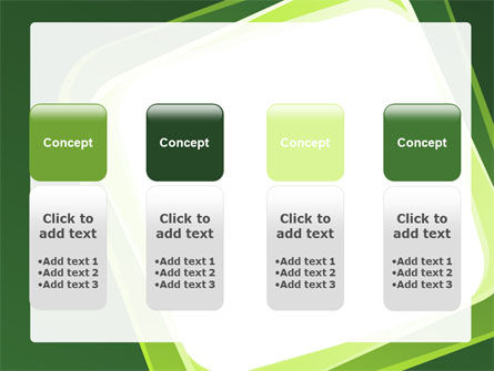 Green Frame PowerPoint Template Slide 5