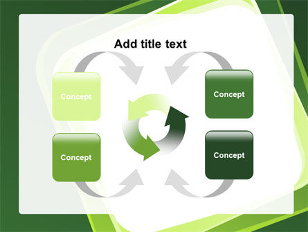 Green Frame PowerPoint Template Slide 6