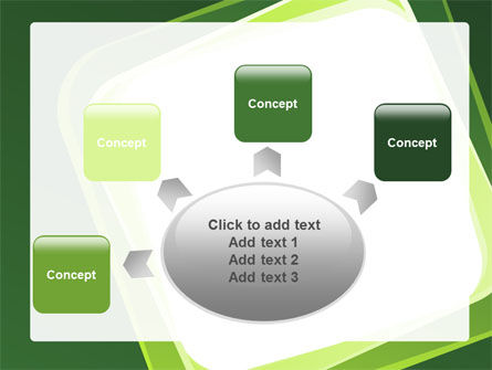 Green Frame PowerPoint Template Slide 7