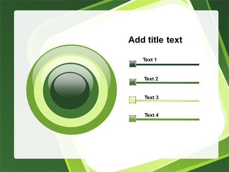 Green Frame PowerPoint Template Slide 9