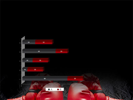 Red Boxing Gloves PowerPoint Template Slide 11