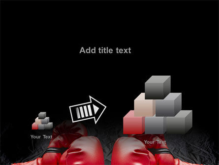 Red Boxing Gloves PowerPoint Template Slide 13