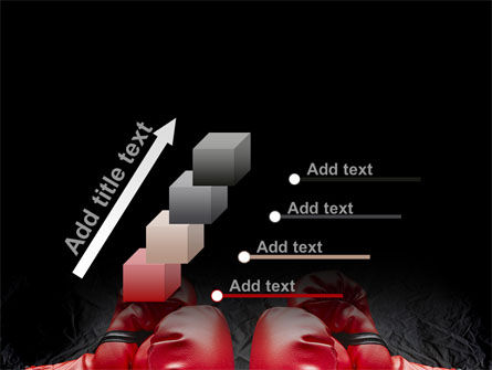 Red Boxing Gloves PowerPoint Template Slide 14