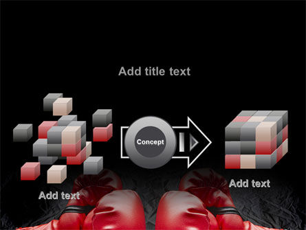 Red Boxing Gloves PowerPoint Template Slide 17