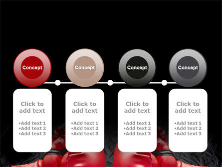Red Boxing Gloves PowerPoint Template Slide 5