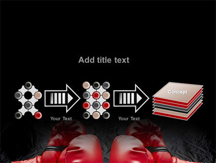 Red Boxing Gloves PowerPoint Template Slide 9