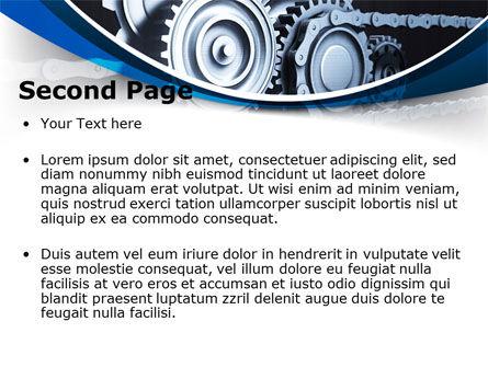 Integral Parts PowerPoint Template, Slide 2, 08681, Utilities/Industrial — PoweredTemplate.com