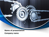 Utilities/Industrial: Integral Parts PowerPoint Template #08681