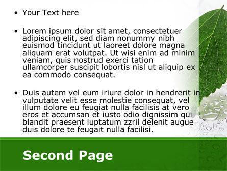 Hydroponics PowerPoint Template, Slide 2, 08683, Nature & Environment — PoweredTemplate.com