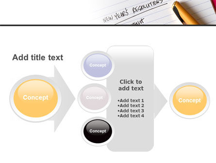 New Year Resolutions PowerPoint Template Slide 17