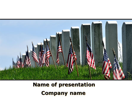 Memorable Events PowerPoint Template, 08686, America — PoweredTemplate.com